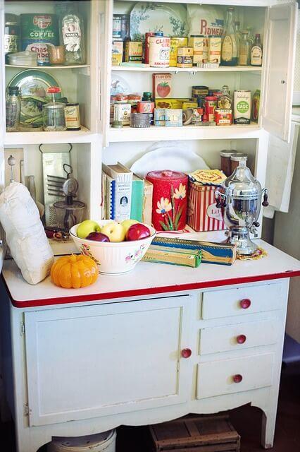 Tavarat keittiössä